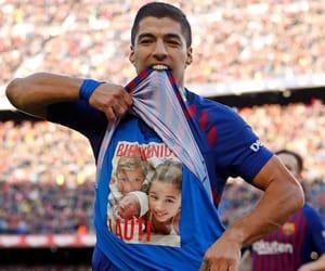 baby, Barcelona, and celebration image