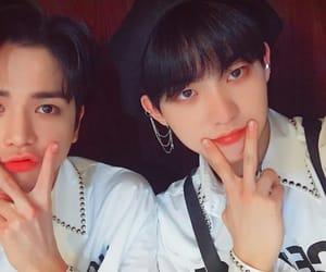 the boyz, younghoon, and hyunjoon image