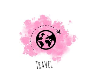 pink, travel, and instagram image