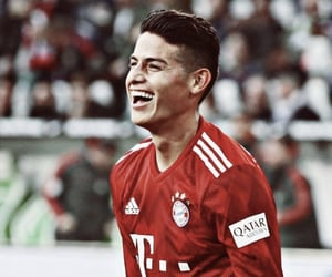 smile and james rodriguez image