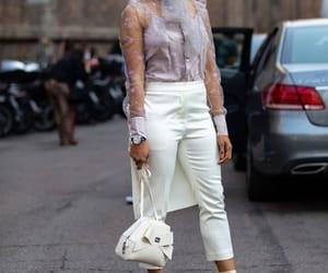 fashion week, street fashion, and street wear image