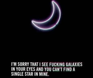 broken, galaxy, and im sorry image