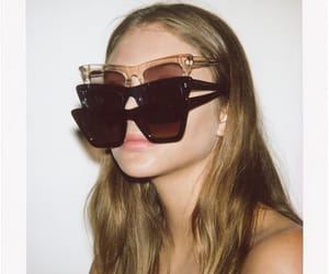 beauty, designer, and eyewear image