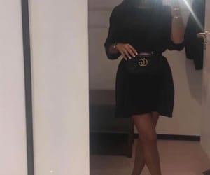 Alexander McQueen, beauty, and mirror selfie image