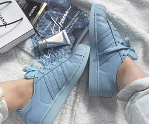 adidas, fashion, and blue image