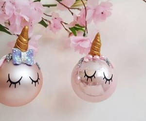 baubles and unicorn image