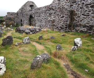 church, grave, and ireland image