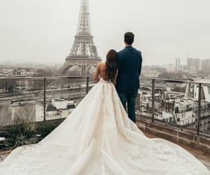 love, wedding, and paris image