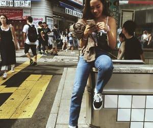 girl, shibuya, and tokyo image