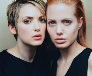 Angelina Jolie, winona ryder, and girl interrupted image