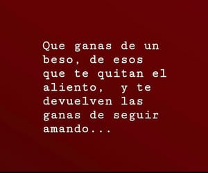 love, frases, and kisses image