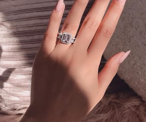 nails, accessories, and ring image