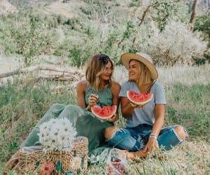 picnic, watermelon, and tezzamb image