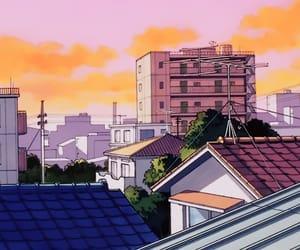 80s, anime, and retro image