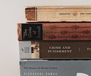 books, crime and punishment, and soft image