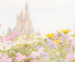 aesthetic, disney, and flowers image