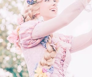 aesthetic, pastel, and rapunzel image