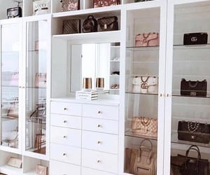closet, bags, and fashion image