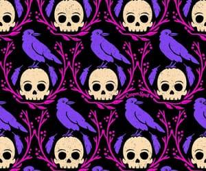 skull, animal, and background image