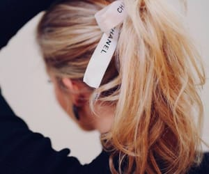 blonde, chanel, and hair image