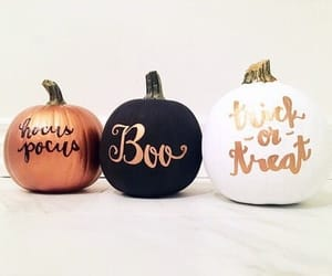 Halloween, pumpkin, and boo image