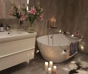 home, bathroom, and candle image