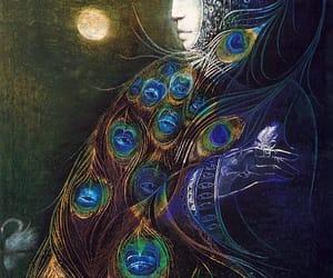 goddess, hera, and mystical image