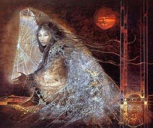 art, goddess, and myth image