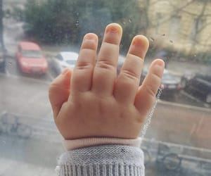 baby, hand, and cute image