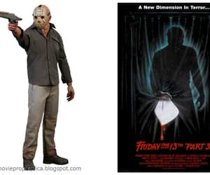 action figure, friday the 13th, and horror image