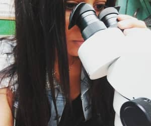biology, microscope, and see image