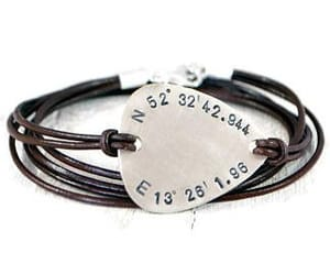 coordinates, anniversary gift, and fathers day gift image