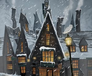 harry potter, hogsmeade, and hp image