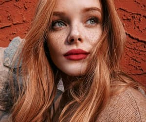 beauty, pretty, and ginger image