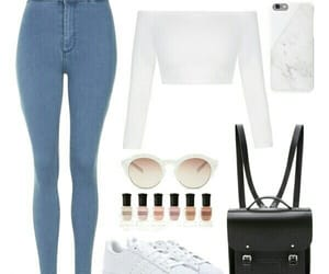 Polyvore, adidas, and outfit image