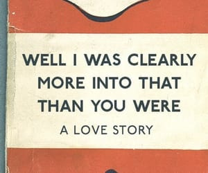 book, love story, and quote image