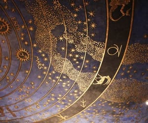 gold, zodiac, and astrology image