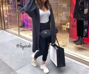 shoes sneakers, fashion style, and stylish closet image