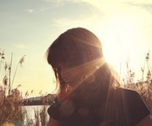 flare, girl, and photography image
