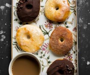 coffee, donuts, and chocolate image