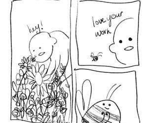 bee, bug, and vegan image