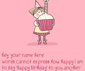 birthday card for sister image