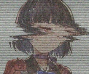 anime, glitch, and aesthetic image
