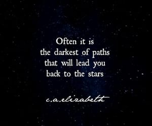 stars, path, and quotes image