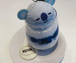 blue, aesthetic, and koya image