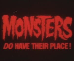 monster, red, and aesthetic image