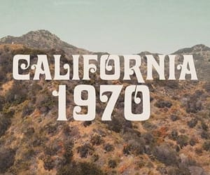california, vintage, and 1970s image