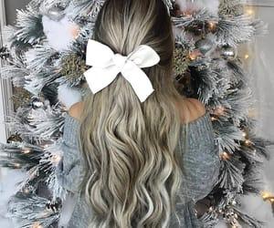 christmas and girl image
