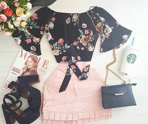chic, floral, and summer image