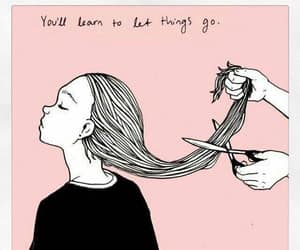 quotes, hair, and pink image